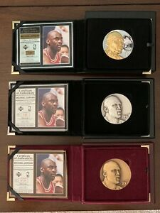 Michael Jordan Highland Mint Magnum (Jumbo) 3 Coin Limited Set Match (All #133)