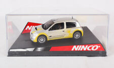 Slot Car: Renault Clio Super 1600 Showcar, Ninco, 1/32, 50297, w Display Case