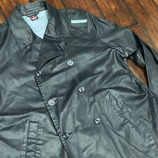 Diesel Jacket Mens XL Indigo Lagoon Harbour Master Double Breasted Coat