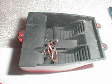 """(1) Slot Car interior with seats 2"""" long X  1 3/4"""" wide 1960 Vintage used #2"""