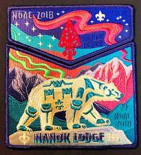 Nanuk Oa Lodge 355 Great Alaska Polar Bear 549 Flap 2018 Noac 2-Patch Soldout!