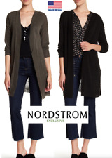 Nordstrom Exclusive Women's Petite Knit Long Sleeve Cardigan
