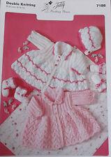 Baby Knitting Pattern - DK      -     7188