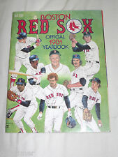 VINTAGE BASEBALL 1981 BOSTON RED SOX OFFICIAL YEARBOOK
