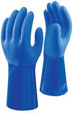 10 Pairs of SHOWA 12'' 660 Oil & Chemical Resistant Glove Gauntlet EN388 4121