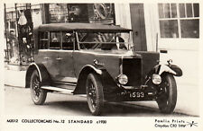 "black & white photographic print post card of a ""  standard 1930     """