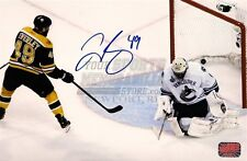 Rich Peverley  Boston Bruins Stanley Cup signed 8x10 A