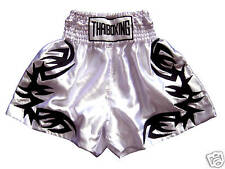 New Muay Thai Kick Boxing Shorts Thailand Satin