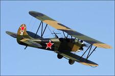 Giant 1/6 Scale Polikarpov PO-2 WW-II Biplane Plans,Templates, Instructions 74ws