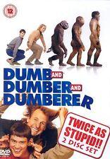 Dumb And Dumber + Dumb And Dumberer DVD Jim Carrey Original UK Rel New Sealed R2