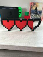 Legend of Zelda Hearts video game logo sign ~7.5in (videogame decor)