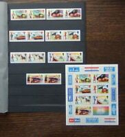 Barbuda 1974 Centenary of the UPU set and Miniature Sheet MNH