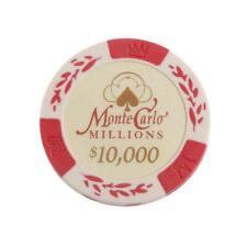 Gambling Casino Play Fun Dollar 10000 Face Value Poker Credit Chips Set Gift