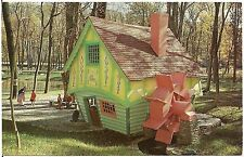 The Jolly Miller at Story Book Forest Near Ligonier PA Postcard