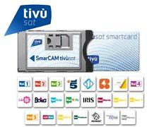 Italian TV in UK Tivu Sat Cam & Tivusat ACTIVE Smart Card - Digital Italian TV