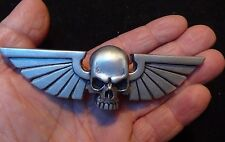 Winged Skull Imperialis silver