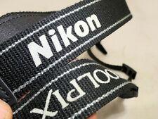 Nikon Coolpix Black Yellow camera Shoulder Neck Strap