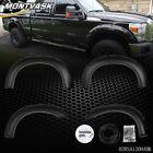 Fit For 99-07 Ford F250 F350 Super Duty Bolt-On Rivet Pocket Style Fender Flares <br/> PP High quality injection moulding fender flares