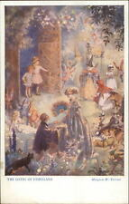 Fantasy GATES OF FAIRYLAND Fairy Knight Witch Margarest Tempest Postcard