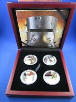 2010 $1 Tuvalu 1oz Silver Proof Coin Collection - NED KELLY -