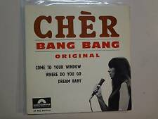 "CHER: Bang Bang Original +3-France 7"" Internatiional Polydor Production EP,PCV"