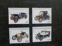 LIECHTENSTEIN 2012 VETEREN CARS SET 4 MINT STAMPS