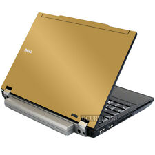GOLD Vinyl Lid Skin Cover Decal fits Dell Latitude E4300 Laptop