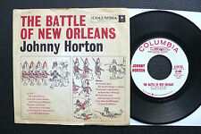 "7"" Johnny Horton-The Battle of New Orleans-US COLUMBIA PROMO"