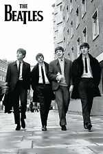 BEATLES - LONDON STREET POSTER 24x36 - MUSIC BAND 49506