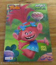 NEW Coloring Book Trolls Hug Me 96 Pages