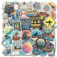 100 SUMMER Surf Stickers bomb Vinyl Skateboard Luggage Surfboard Dope Decals Lot