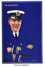 NOVELTY POSTCARD FULL OF CONFIDENCE - 1918 - NAVAL SERIES NO 24 KINGSTON