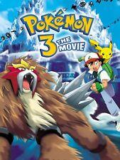 Pokemon 3 35mm Film Cell strip very Rare var_b