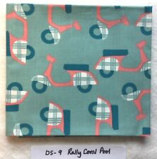 Birch Organic Cotton - Rally Pool/Coral - Scooter