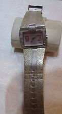 Puma Watch  Ladies  Silver Tone Crystal Bezel  F10