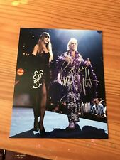 RIC FLAIR SIGNED 8X10 PHOTO Autographed Wrestling Wcw Fifi Halloween Havoc