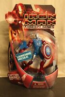 Marvel Iron Man Captain America Armor Launching Missile (2008) Hasbro Figure