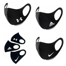 Washable Unisex Logo Face Mask For Nose Mouth Cover - Great For Bike Ride / Run