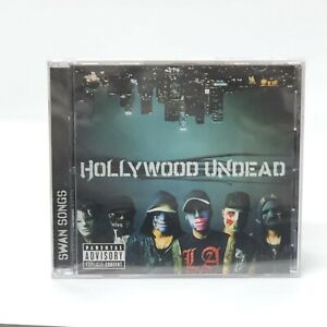 Hollywood Undead Swan Songs Music CD New Sealed Explicit