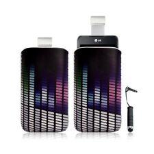 Housse coque étui pochette pour LG Optimus 2X avec motif + Stylet mini