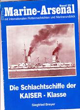 volume serie marine arsenal sulle navi imperiali classe Kaiser