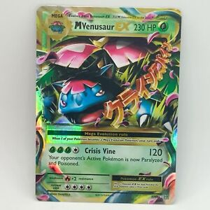 Mega M Venusaur EX 2/108 - Ultra Rare - XY Evolutions - Pokemon Card - NM