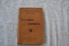 LES CONTES POPULAIRES GEDEON HUET