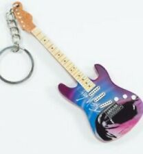 Pink Floyd The Wall 10cm Wooden Tribute Guitar Key Chain