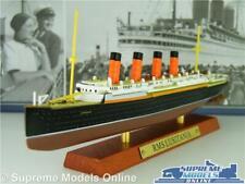 RMS LUSITANIA MODEL BOAT 1:1250 SCALE IXO ATLAS TRANSATLANTIC LINERS SHIP K8