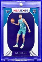 LAMELO BALL 2020-21 PANINI NBA HOOPS #223 ROOKIE RC HORNETS MINT