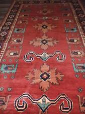 4x7ft. Semi Antique Caucasian Sirki Kargai Kazak Wool Rug