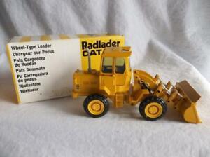 NIB Gescha Conrad #2880 Caterpillar 920 Wheel Loader 1:50 Scale Radlader