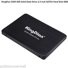 KingDian S200 7mm Ultra Slim Solid State Drive SSD 60GB 2.5'' SATA3 for Computer