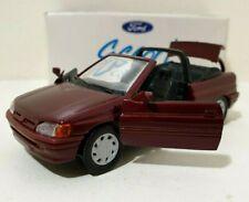 SCHABAK 1/43 Ford Escort Cabriolet Rouge / Bordeau